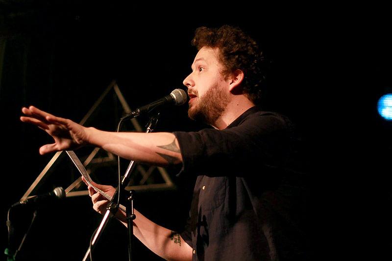 Poetry Slammer Henrik Szanto