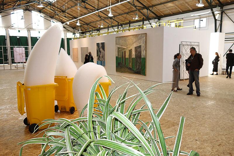 Kunst bei der Biennale in Rumänien
