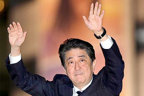 Wahlsieg für Abes Regierungskoalition in Japan