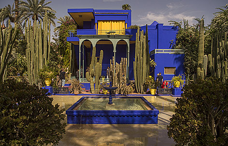 Museum für Yves Saint Laurent in Marrakesh
