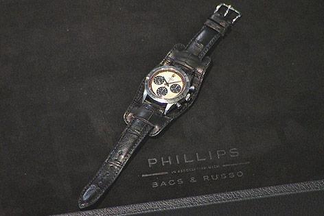 Versteigerte Rolex-Uhr von Schauspieler Paul Newman