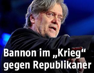 Stephen Bannon (ehemaliger Chefberater von US-Präsident Donald Trump)