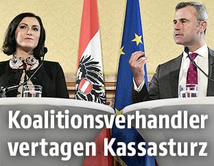 Elisabeth Köstinger und Norbert Hofer