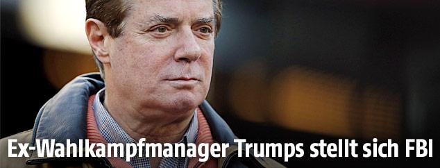 Trumps Ex-Kampagnenchef Paul Manafort