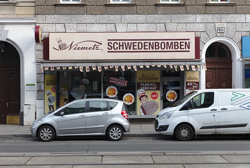 Schwedenbomben-Shop in Wien