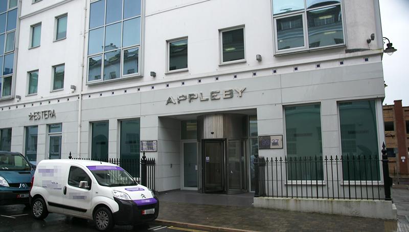 Bürogebäude von Appleby und Estera auf der Isle of Man