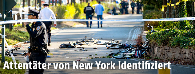 Abgesperrter Tatort in New York