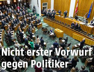 Nationalratsitzung im alten Parlament