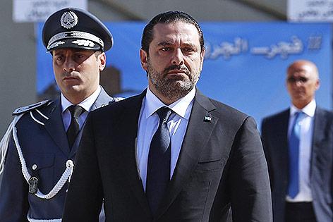 Der libanesische Regierungschef Saad Hariri