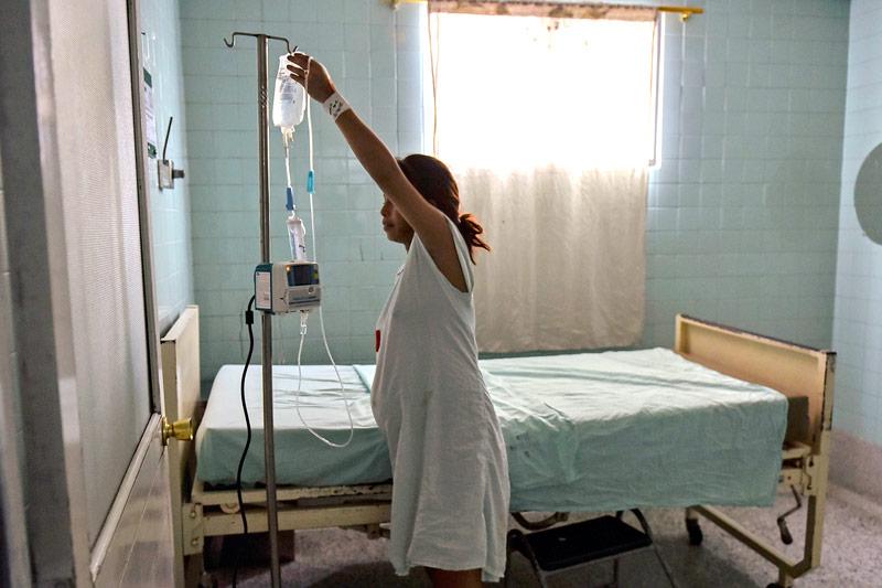 Krankenhaus in Kolumbien