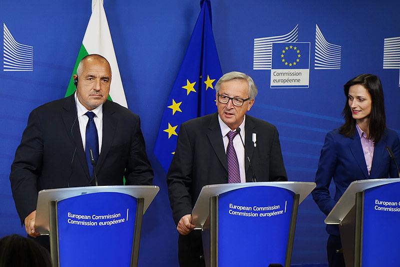 Boyko Borissov und Jean-Claude Juncker