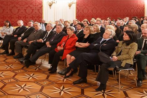 Bild vom Festakt in der Hofburg zur Feier des IWM