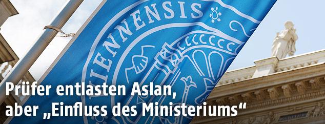 Fahne der Uni Wien