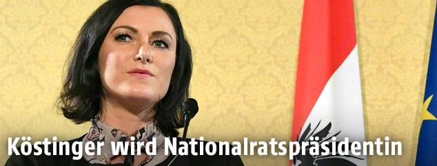 ÖVP Generalsekretärin Elisabeth Köstinger