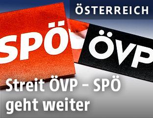 ÖVP- und SPÖ-Logo