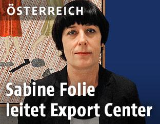 Museumsdirektorin Sabine Folie