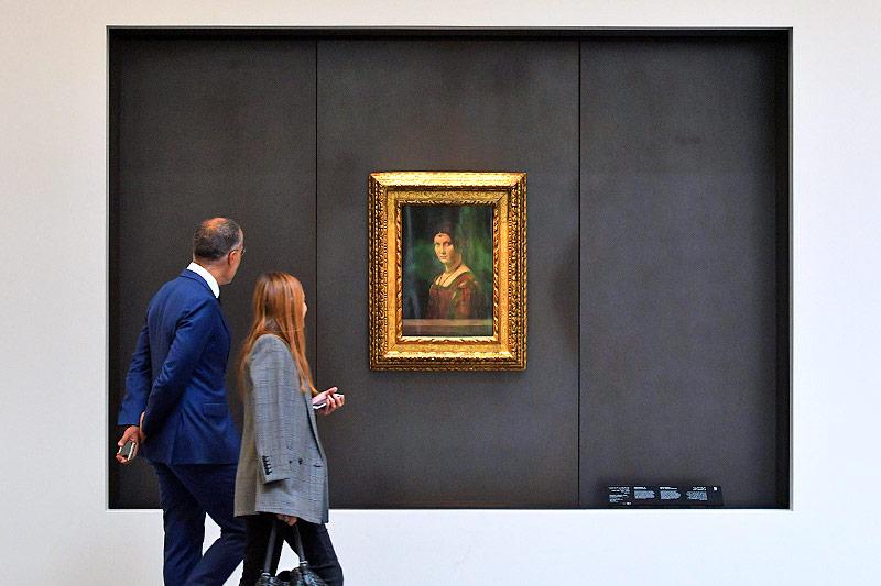"""Das Gemälde """"La Belle Ferroniere"""" von Leonardo da Vinci"""