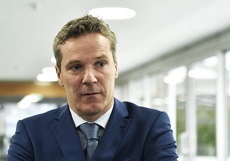 Verhandler der Arbeitgeberseite, Christian Knill