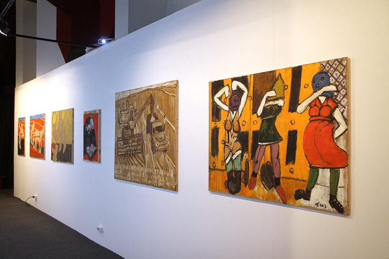 Victor Sachivko (2017), Serie von Gemälden zur russischen Geschichte