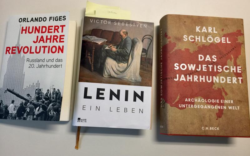 Bücher zur Oktoberrevolution