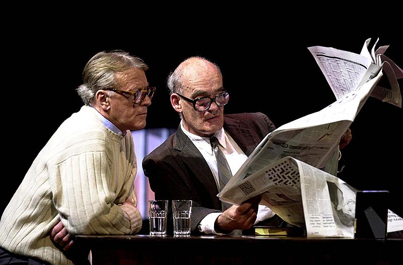 """Helmut Lohner und Hans Michael Rehberg in Thomas Bernhard's """"Der Schein trügt"""""""