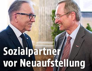 Rudolf Kaske und Christoph Leitl