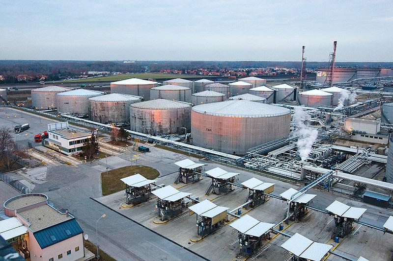 OMV-Raffinerie