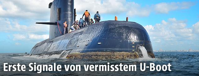 Argentinisches U-Boot ARA San Juan