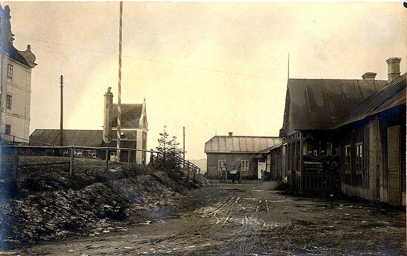 Lager Drosendorf Badehaus und Marodenhaus, 1914-1918