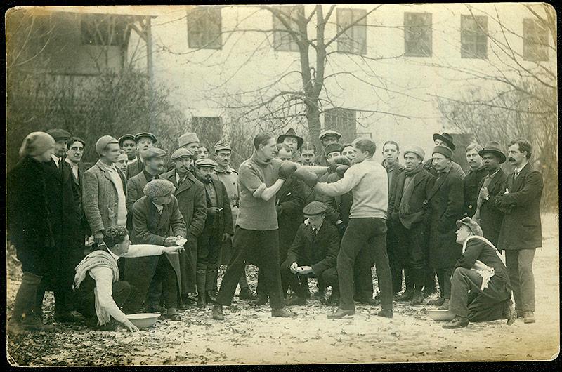 Grossau Boxkampf, 1914-1918
