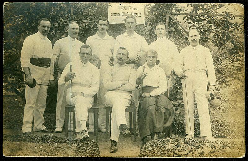 Konfinierte Fechtclub Drosendorf, 1914-1918