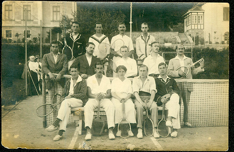 Konfinierte Tennisclub Raabs, 1914-1918