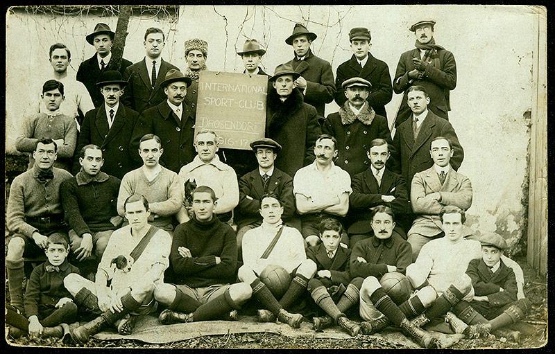 Konfinierte International Sport-Club Drosendorf, 1917