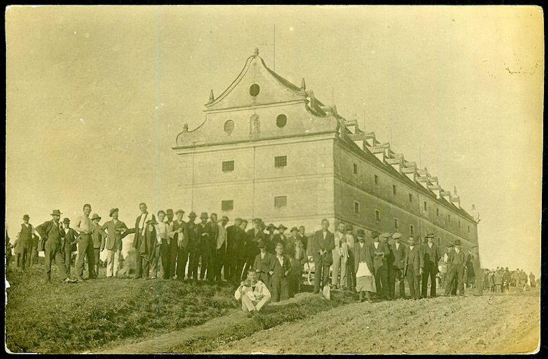 Internierungslager Drosendorf Schüttkasten, 1914