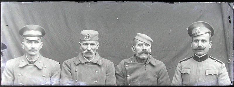 Internierte Montenegriner, 1916-1918