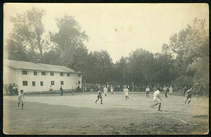 Internierte Grossau Fußballturnier, 1914-1918