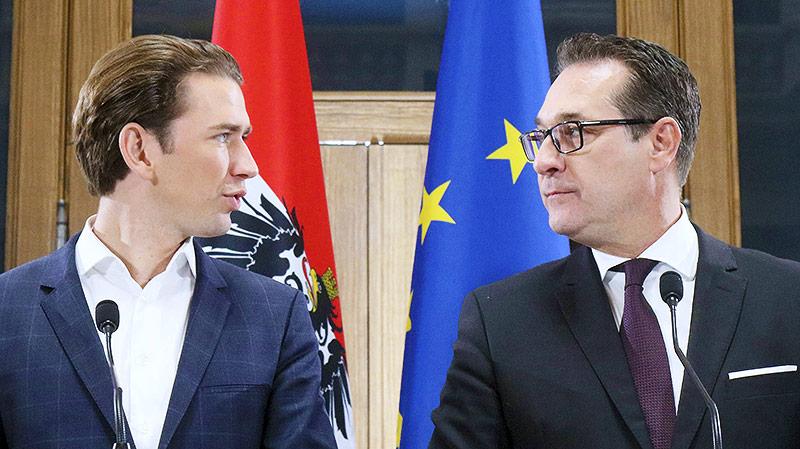 ÖVP-Chef Sebastian Kurz und FPÖ-Chef Heinz-Christian Strache