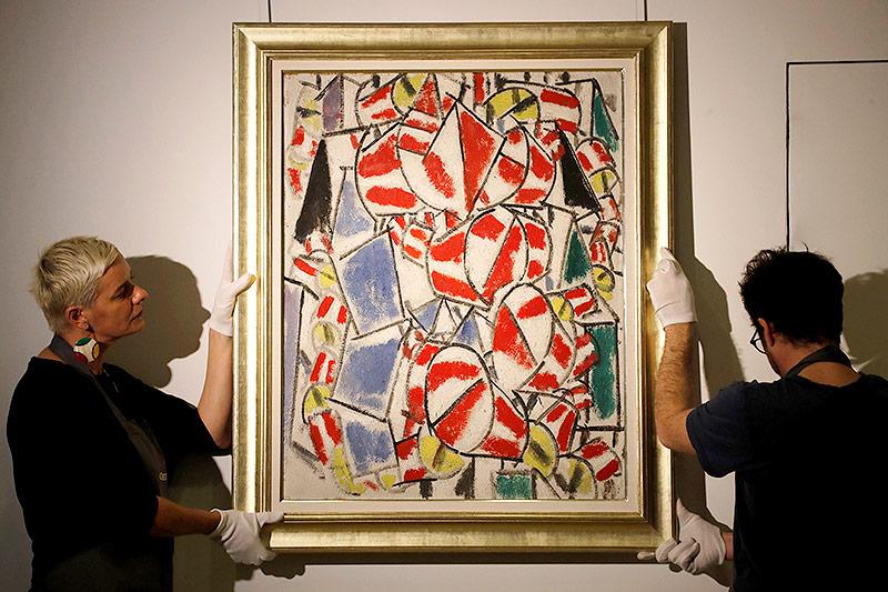 """Contraste de formes"" von Fernand Leger"