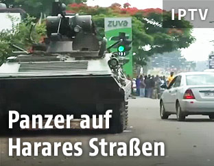 Panzer in Harare