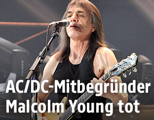 AC/DC-Mitbegründer Malcolm Young
