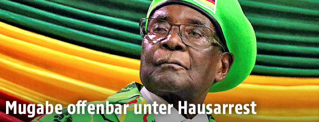 Simbabwes Staatschef Robert Mugabe