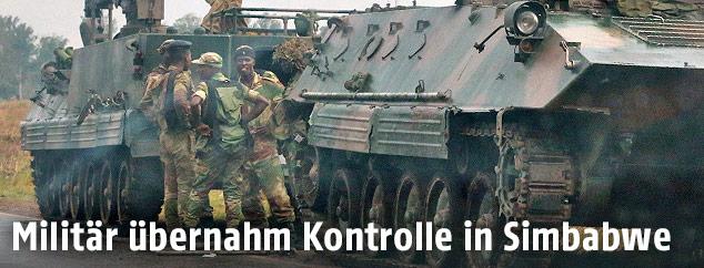 Soldaten in Simbabwe