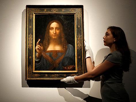 """Leonardo da Vincis """"Salvator Mundi"""""""