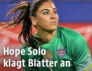 US-Torfrau Hope Solo