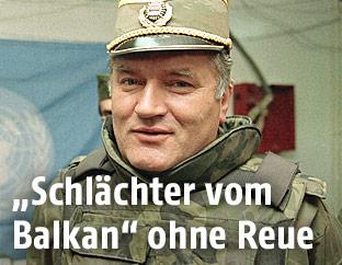Mladic im Jahr 1993