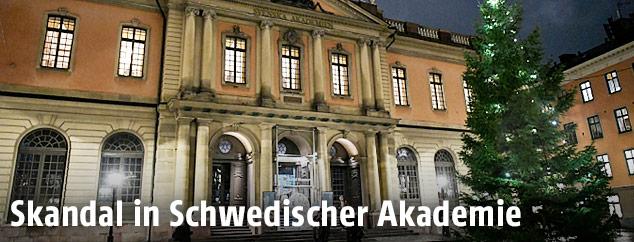 Schwedische Akademie in Stockholm