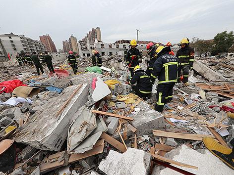 Zwei Tote und mehr als 30 Verletzte durch Explosion in Ostchina