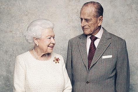 Queen Elizabeth und Prince Philip