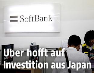 Softbank Filiale in Japan