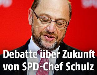 Martin Schulz, Chef der deutschen Sozialdemokraten